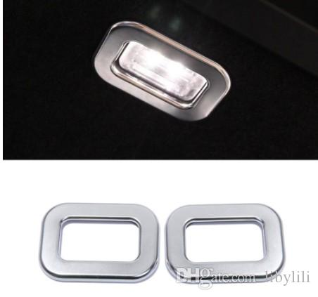 For Land Rover Range RR Sport 14-17 Car-Styling ABS Matte Chrome Tail Door Lamp Light Frame Cover Accessories