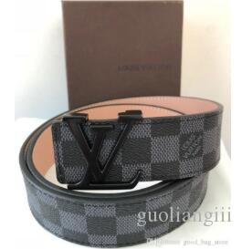 5312a36dbac LOUIS VUITTON High quality designer belts men Jeans belts styles Cummerbund  belts For men Women Metal Buckle with a box