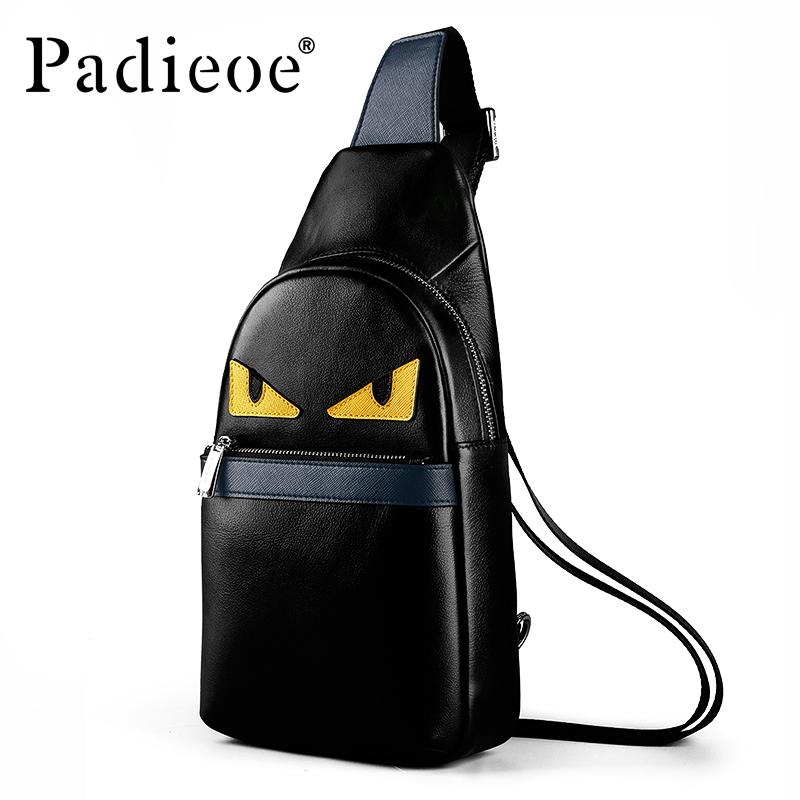 ca34344652 Padieoe Men Sling Bag Chest Bag Shoulder Crossbody Bags Satchel ...