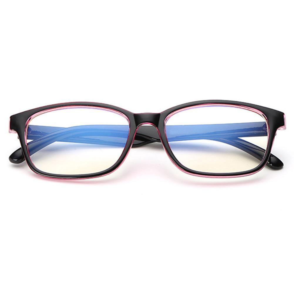 9fe74a5360 Compre 1X Bloque De Filtro De Luz Azul UV Lente Transparente Gafas De  Ordenador Antideslumbrante Pop A $33.19 Del Ericgordon | DHgate.Com