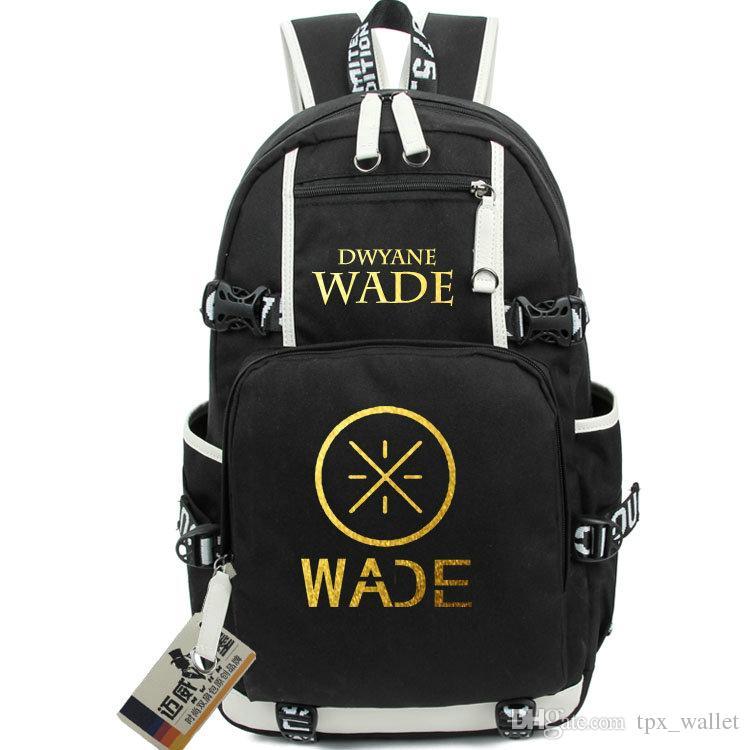 Dwyane Wade Backpack The Flash Daypack Quick Basketball Schoolbag Good  Packsack Laptop Rucksack Sport School Bag Out Door Day Pack Mesh Backpack  Justice ... 7b46ba645d411