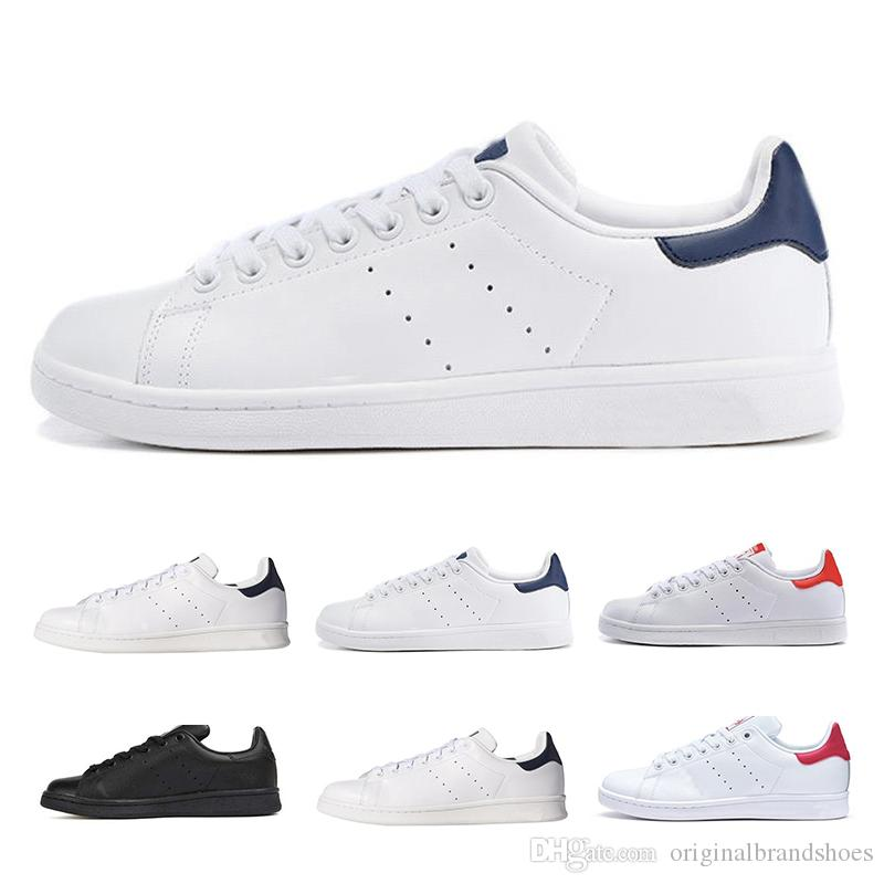 5243b894c6b6a Stan Smith Pharrell Williams Casual Shoes For Women Men Top Quality  Designer Sneakers Leather Sport Classic Flats Running Shoes Size 36-46 Stan  Smith ...