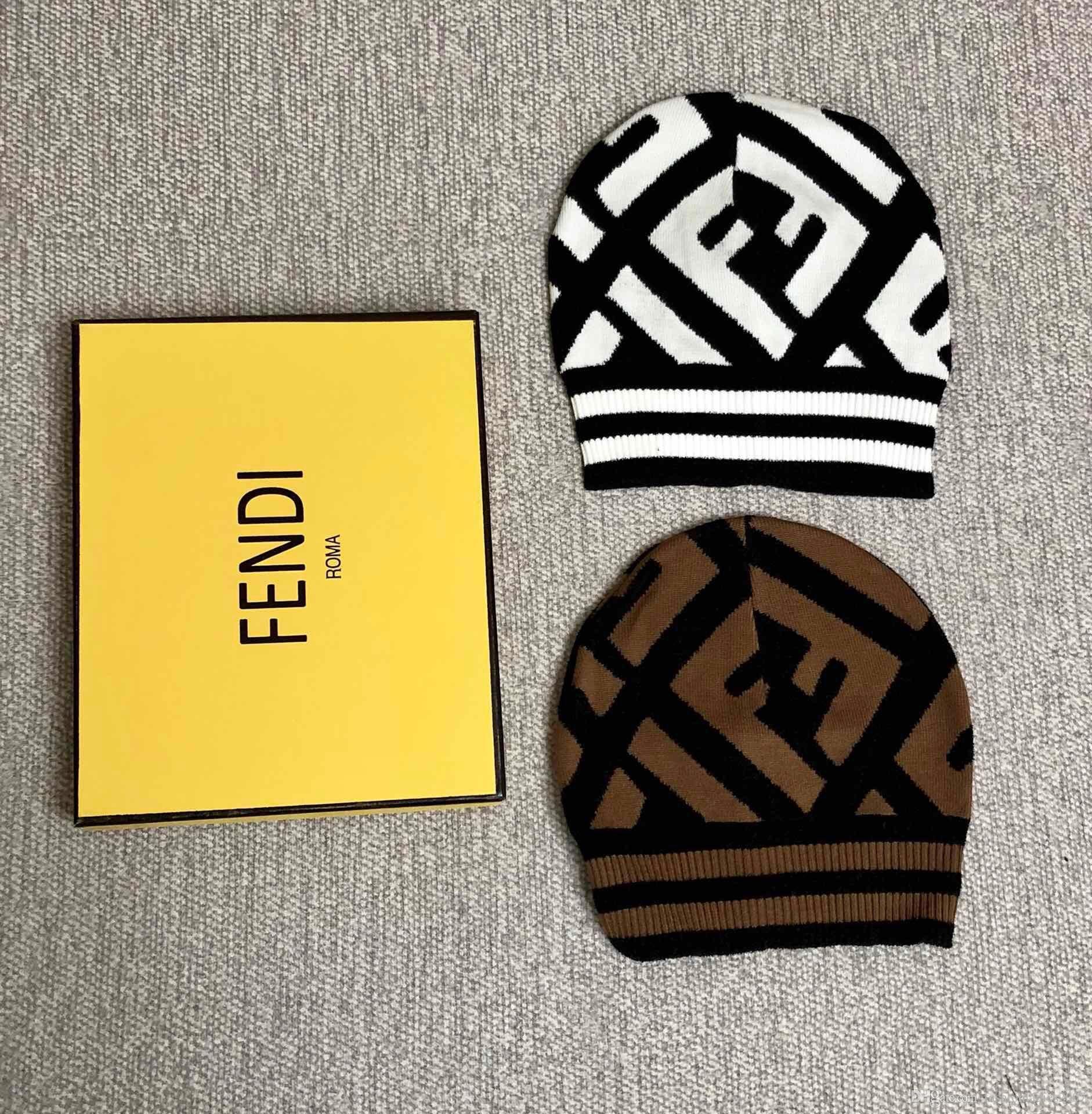 Designer Winter Wool Hats For Women And Men Luxury Brand Fashion ... 943e9f71564