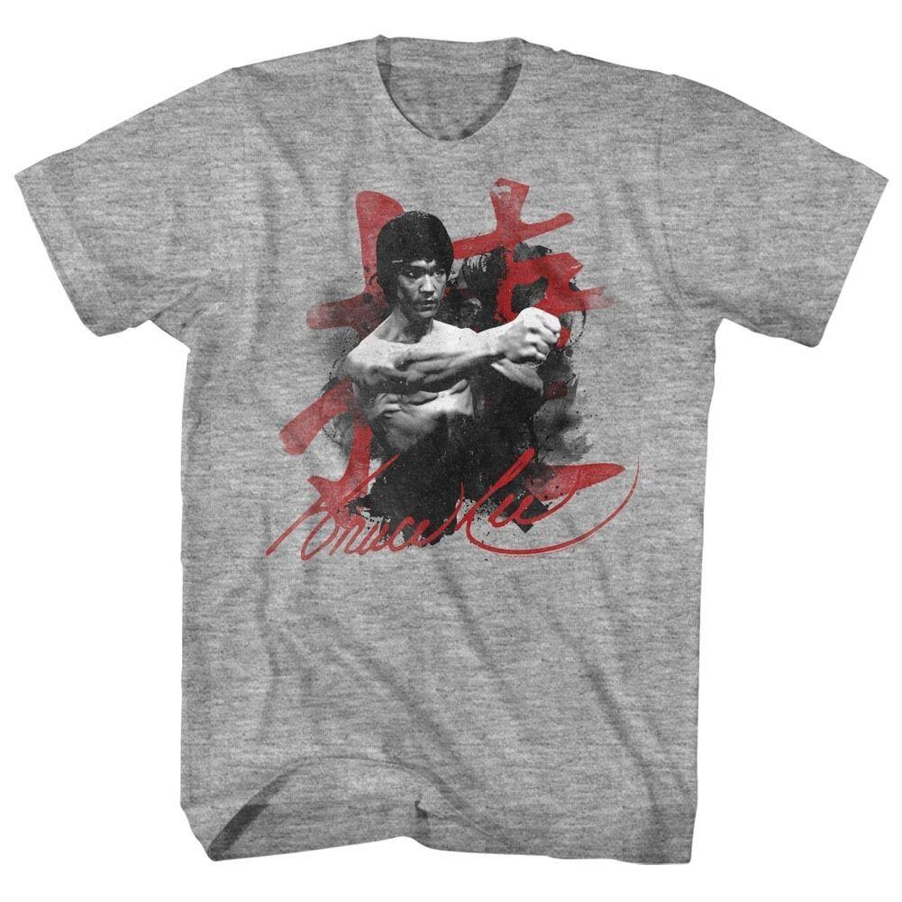 783c4243 Bruce Lee Signature Licensed Adult T Shirt Panic At The Disco T ...