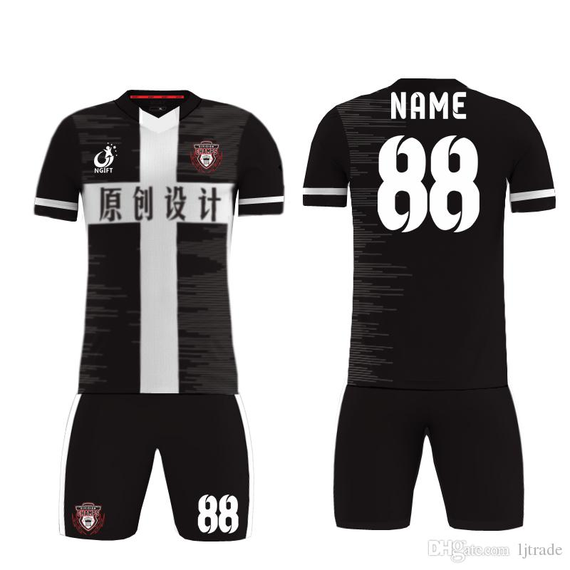 New season team sport Kit men kids football jersey youth soccer jersey blank custom uniform soccer jerseys sets