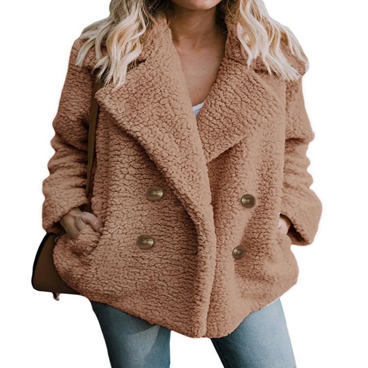 e54496a1206 2019 Women'S Jackets Winter Coat Women Cardigans Blouson Femme S 3XL Ladies  Coat Hoodie Outwear Warm Jumper Fleece Faux Fur From Gloriana, $36.44 |  DHgate.