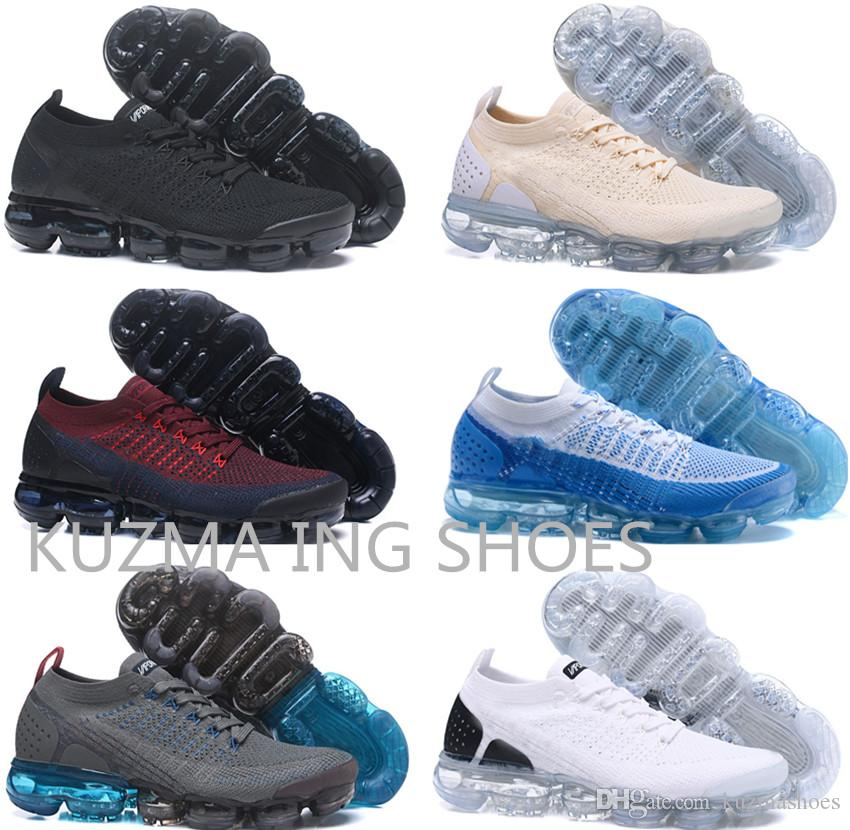 Real Quality Men's classic Vapors running shoes 2.0 Athletic Shock classic walking shoes womens casual Hiking maxs sport Sneakers us 5.5~12