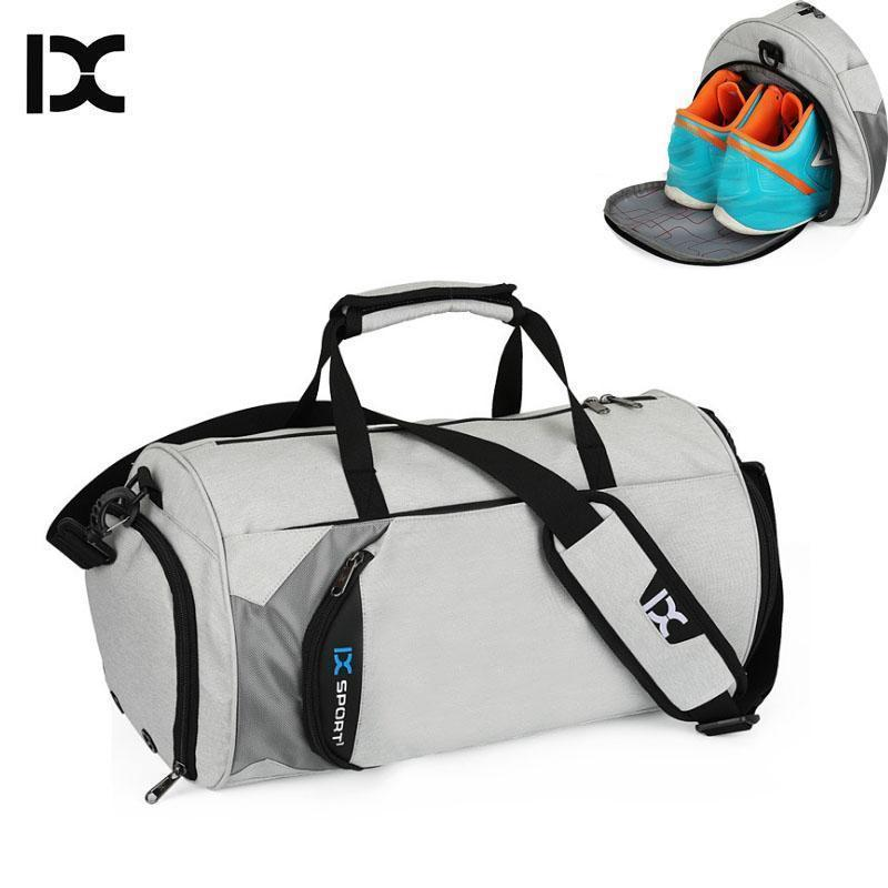 efcfab058a Lucky2019 Men Gym Bags For Training Nylon Fitness Travel Sac De Sport  Outdoor Sports Shoes Ladies Dry Wet Gymtas Yoga Tas Travel Backpack Duffel  From ...