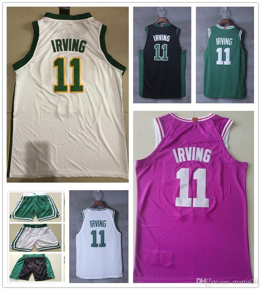 brand new 475c2 118f8 new arrivals youth kyrie irving black jersey 5c8e7 4084f