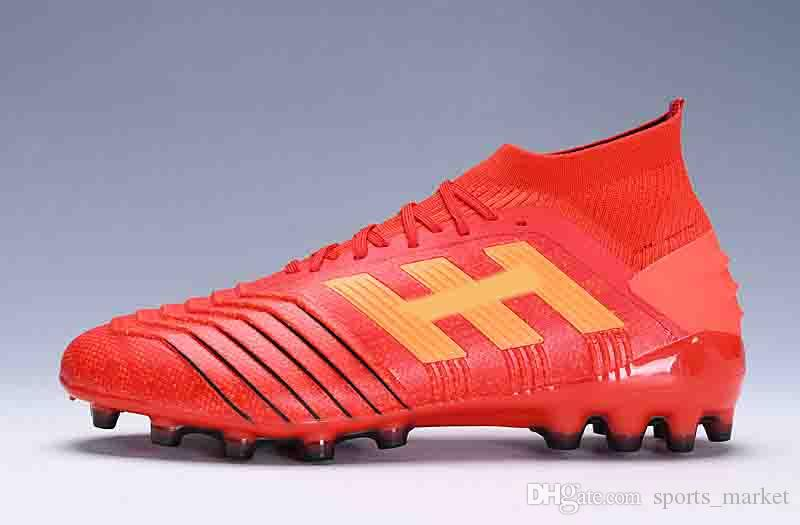 2019 Predator Ace 18+ Soccer Cleats 2018 World Cup Telstar Firm Ground  Cleats Mens Football Boots Paul Pogba Football Shoes PREDATOR 19.1 From  Sports market ... a3513db2f1