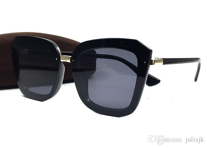 Occhiali da Sole Donna 2019 di Disegno di Marca New European American Occhio di Gatto Occhiali da Sole delle Signore Occhiali da Sole retr/ò Scatola Bicchieri