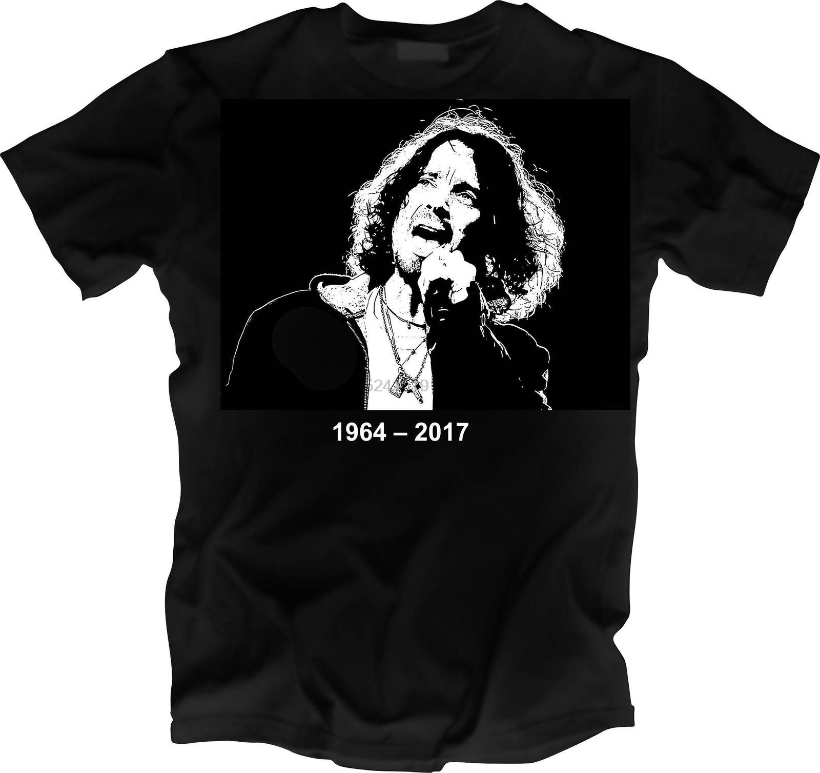 Chris Cornell Memorial Shirt R.I.P