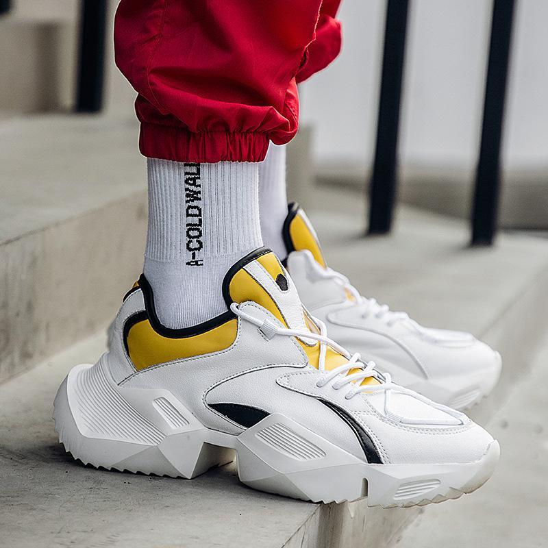 ad4c464e74 Compre Diseñador De Hip Hop Zapatos Kanye West Calzado Casual Hombre Tenis  Sapato Masculino Heren Schoenen High Top Zapatillas De Deporte Cesta Hombre  Y3 A ...