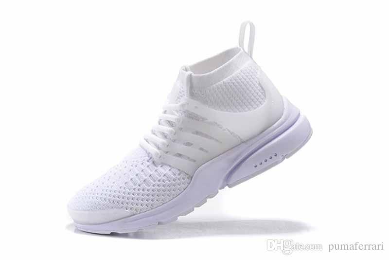 9585dcbaaca7c Hot 2018 Womens Free Run Shoe Presto High Top Knitting Shoes Mens Zapatos  Presto Ultra Coach Shoes Prestos 5 Sizes EU36 46 Cute Shoes Mens Shoes  Online From ...