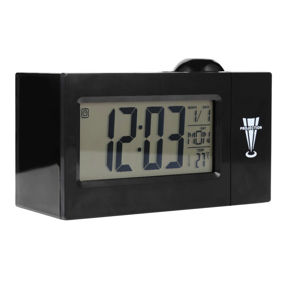 Avec De Led Texte D Électronique Horloge Alarme Table Réveil Horloges Fonction Et Créative Plusieurs Affichage Multifonctionnelle La Ib6yYfgv7m