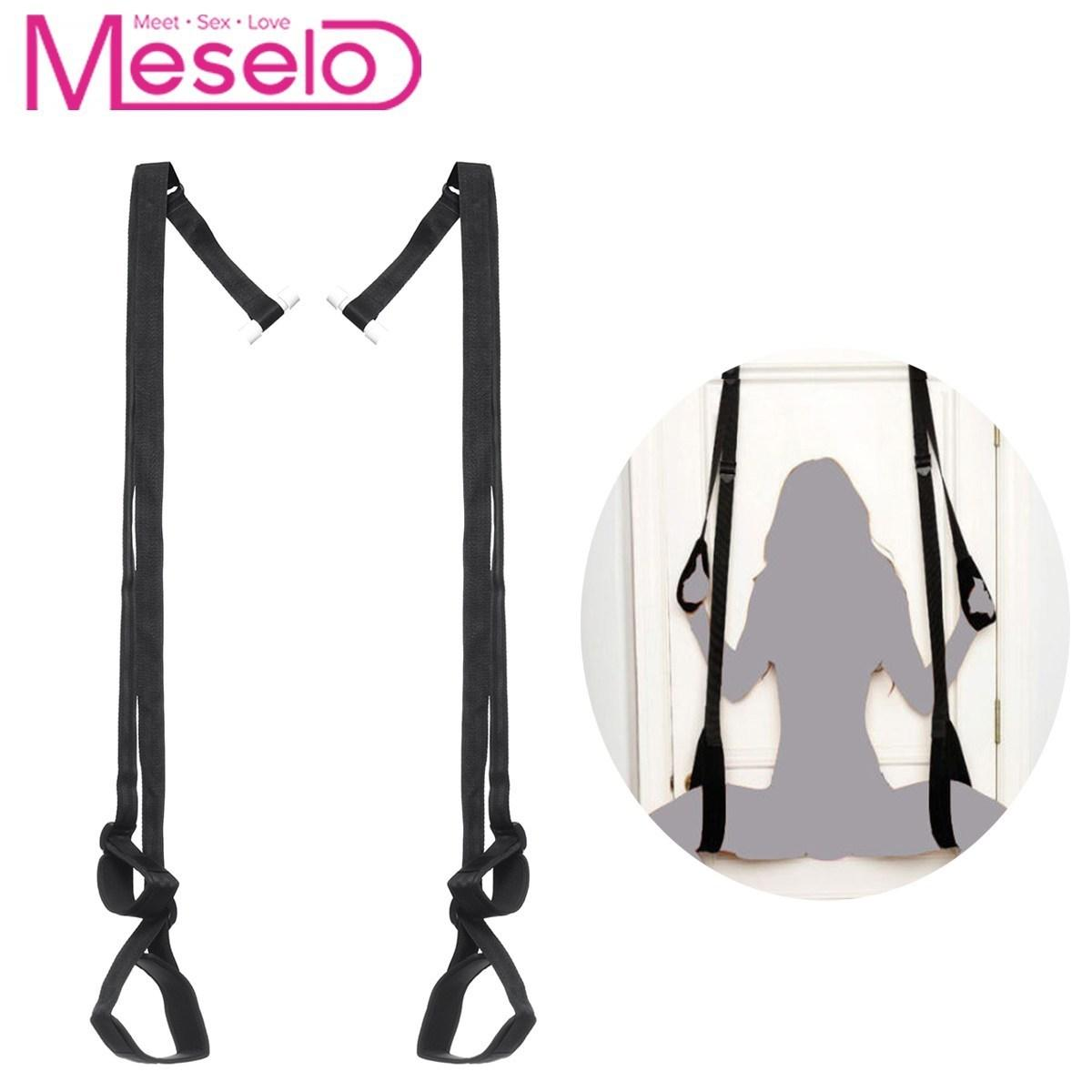 Meselo Adult Bdsm Game Sex Toys Swing Bondage Straps For Couple Flirting  Women Men Sexual Hanging Sling Rope Toy Erotic Product D19011105 Adult  Products ...