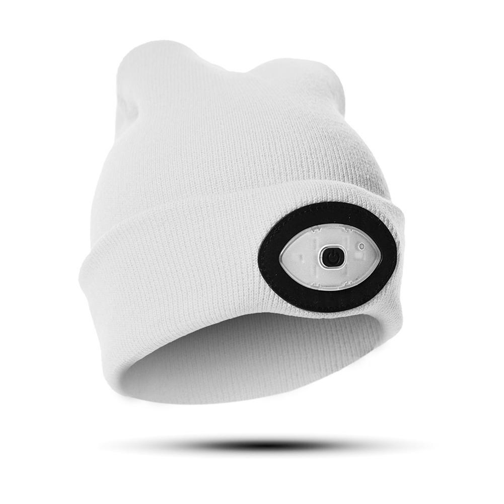 8d5247c7069dc 2019 High Powered LED Light Unisex Beanie Hat With USB Rechargeable For  Outdoor Camping Hiking Best Sale WT From Bingquanwat