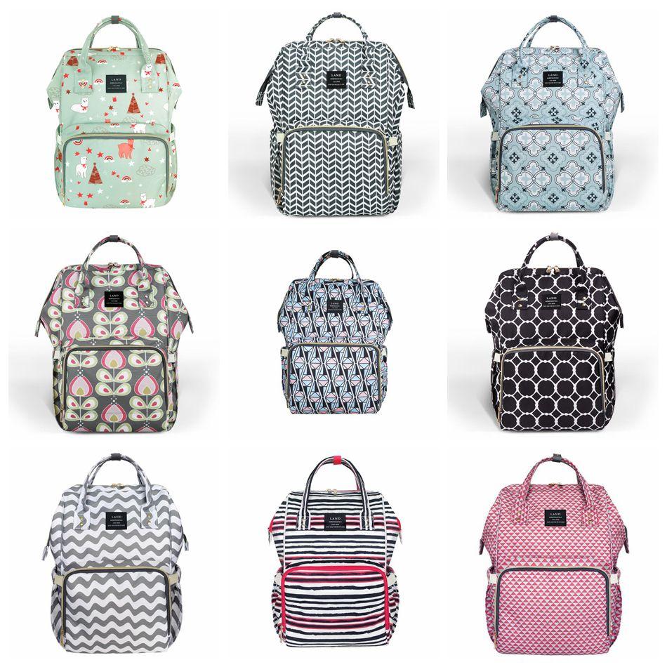 e36582024215 Diaper Backpacks 11 Styles Unicorn Large Capacity Mummy Maternity ...