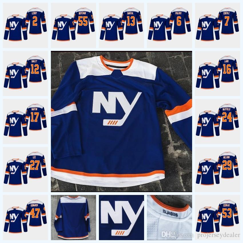 timeless design 0049b b6dc2 Womens Mathew Barzal New York Islanders Third Jersey 47 Leo Komarov 27  Anders Lee 2 Nick Leddy 53 Casey Cizikas 17 Matt Martin