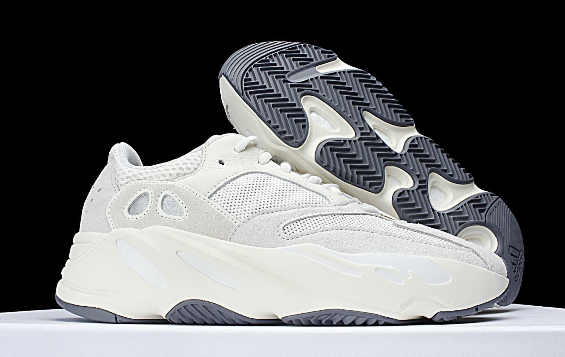 6083c7e93ee1d Satın Al 700 Dalga Koşucu WomeWave Koşucu Atalet Mauve Erkek Kadın Casual  Shoessneakers Çevrimiçi Güverte Tasarımcı Ayakkabı 700 Kanye West Spor  Sneakers 36 ...