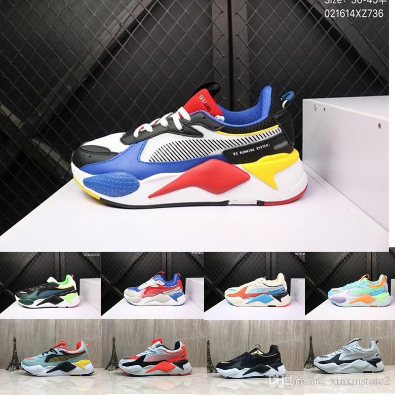 4a35dc8e2e990 Acheter Puma 2019 Nouvelle Haute Qualité RS X Reinvention Jouets Hommes  Chaussures De Course Hommes Femmes Marque Designer De Mode Jogging  Chaussure De ...