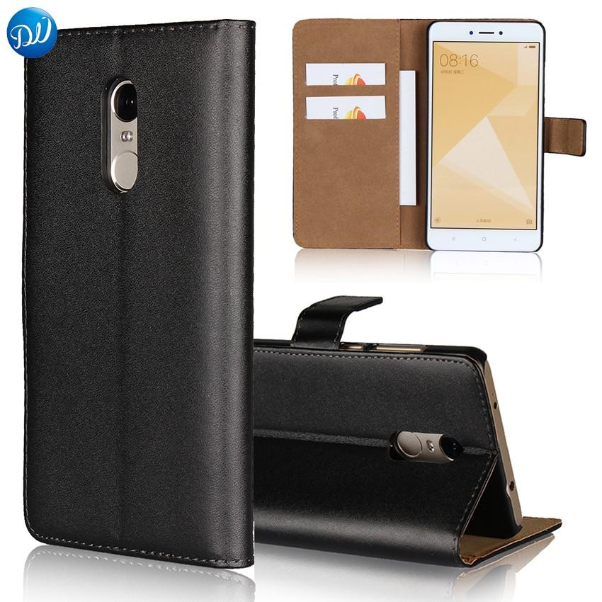 check out 99d6c 58396 wholesale Wallet Case for Xiaomi Redmi 4X 4A Note 4X 4 5A Flip Book Cover  Phone Case for Xiaomi Mi A1 Luxury Genuine Leather