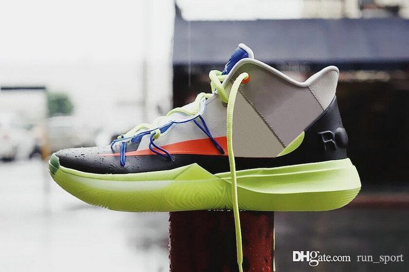 huge discount 5c889 c3494 ROKIT 5 V Friends Area 72 Ray Gun UFO Duke Oreo BHM Kyrie Basketball Shoes  Mens Concepts 5s PE Little Mountain CNY Ikhet Zoom Turbo Sneakers Basketball  ...