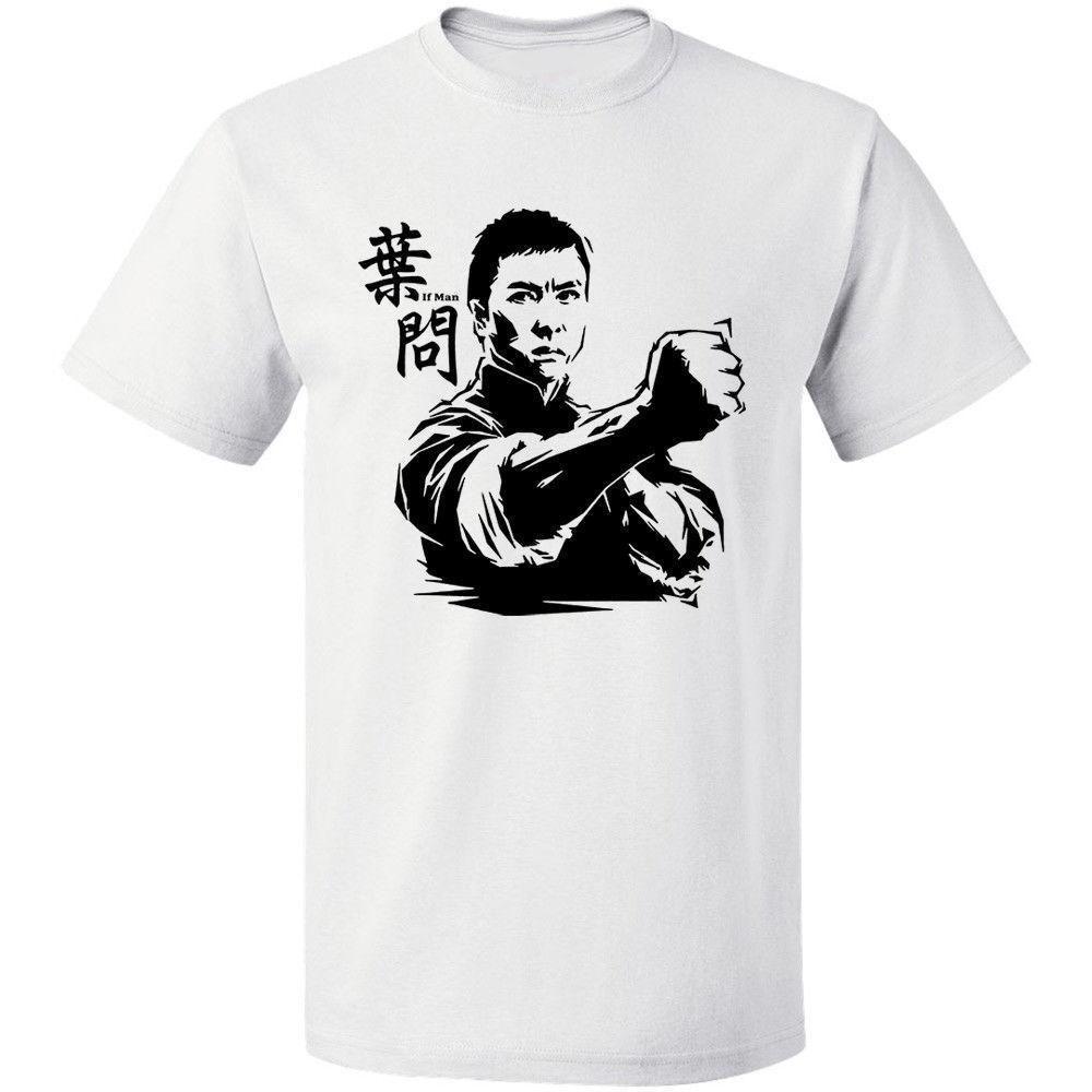 e33b439bc2 Ip Man Custom Design Men's T-Shirt Free Shipping 100% Cotton S-3XL T Shirt  Summer Famous Clothing 2018 New Arrival Men