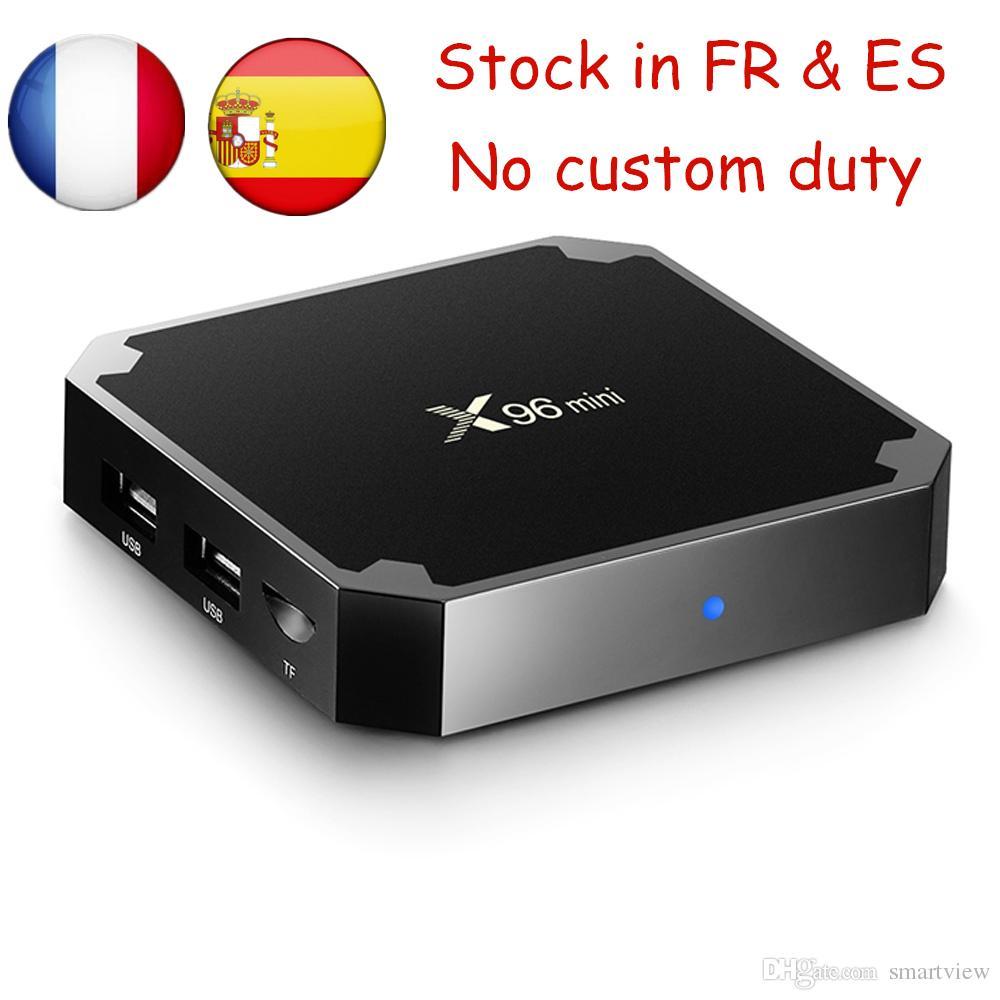 X96 mini Android 7 1 TV BOX 1GB 8GB 2GB 16GB Amlogic S905W Quad Core Media  Player Smart TV Box X96mini