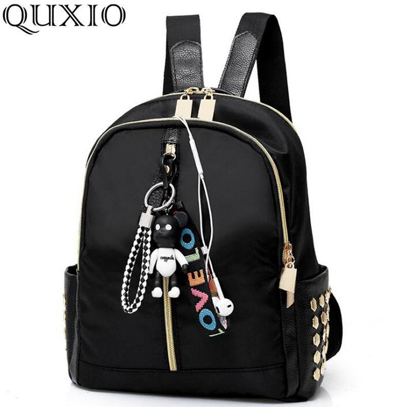 Cute Bear Pendant Bag Female Travel Mini Backpack Women S Casual Shopping  Small Backpack Sleek Minimalist Shoulder Bag CZ195 Camera Backpack Back  Packs From ...