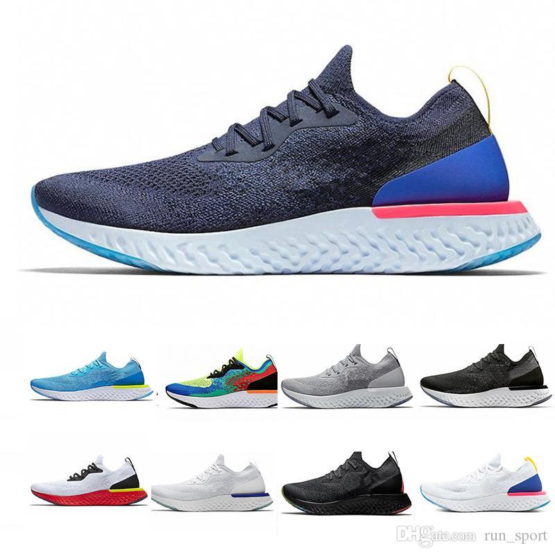 best service f4688 06d81 Compre 2019 Adidas Nike Epic React Instant Go Fly Breath Cómodo Hombres  Zapatos Para Correr Deportes Al Aire Libre Para Hombre Para Mujer Zapatillas  De ...