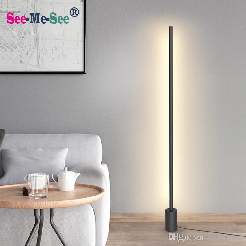 Modern Minimalist Nordic standing lamps led Floor Lights Creative for  Living Room Led floor lamps Gulvlampe