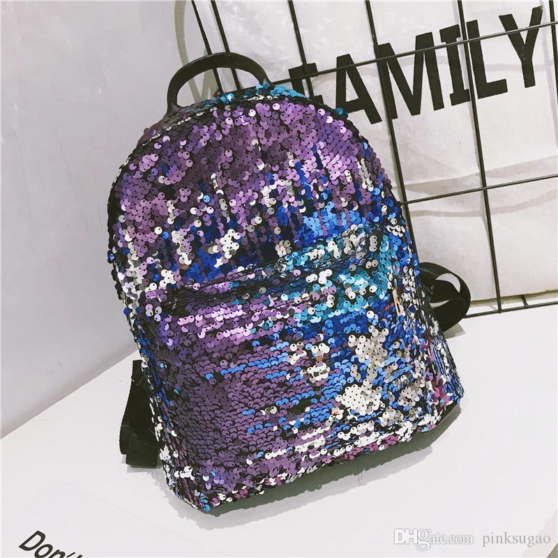 0ae0c6abd3 Pink Sugao Designer Backpack Women Shoulder Bag Girls School Backpack  Fashion College Wind Cartoon Handbag Trend New Cute Sequins Backpack Girls  Backpacks ...