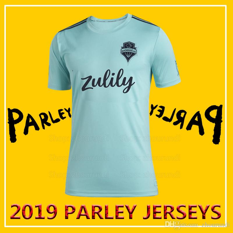 new style 93796 ad758 2019 Seattle Sounders FC Parley soccer jerseys 2019/20 Seattle Sounders FC  x MLS x Parley eco-friendly jersey Running Jerseys XXS-4XL