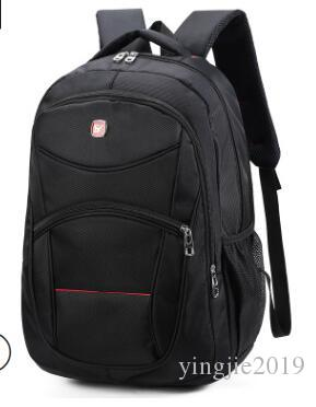 Manufacturer outdoor shoulder computer bag notebook travel backpack student  bag Oxford cloth men custom casual business