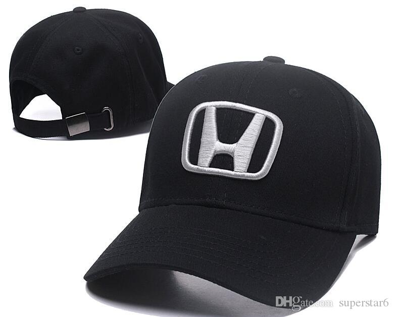 19a6fe043bff6 Hot Sale Honda Cap Bone Gorras Snapback Hat F1 Champion Racing Sports AMG  Automobile Trucker Men Adjustable Golf Cap 00 Bow Ties For Men Satin Blouse  From ...