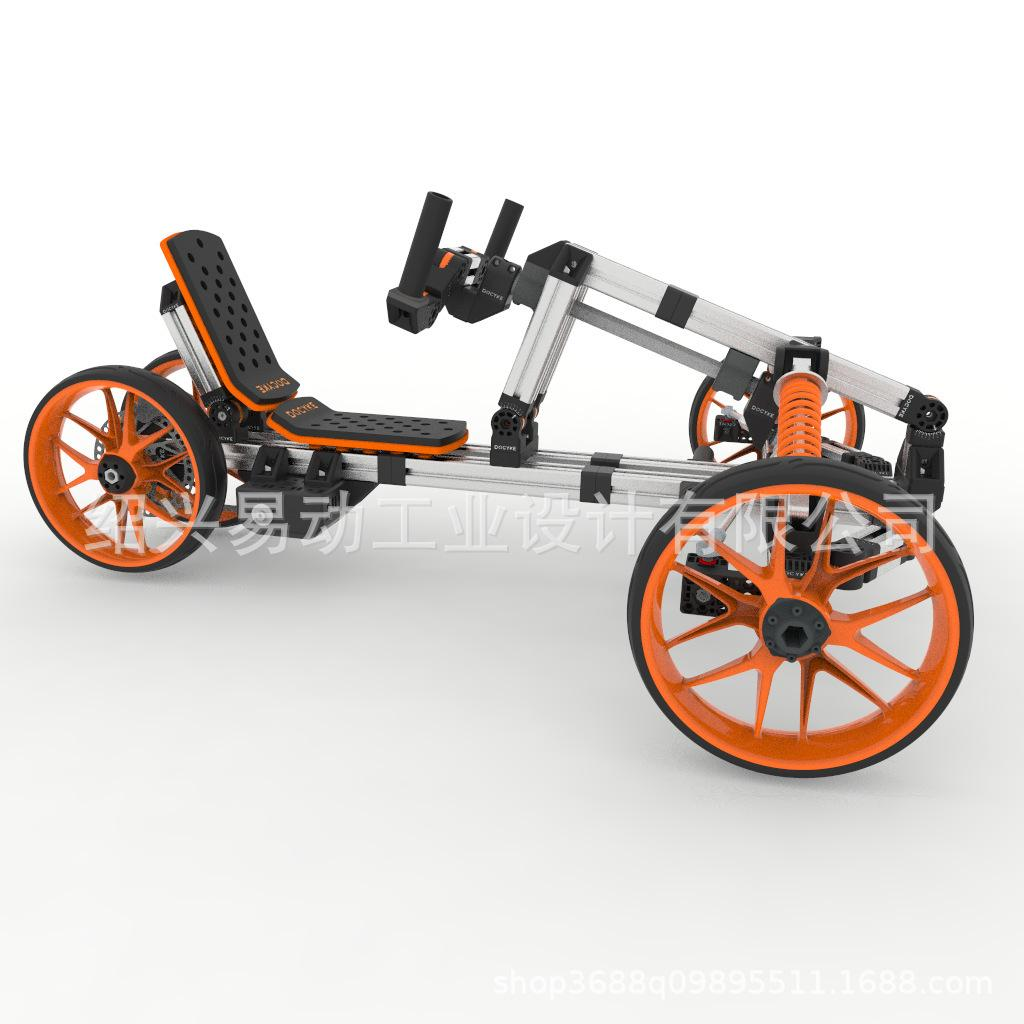 Modular lithium electric scooter electric kart brushless scooter