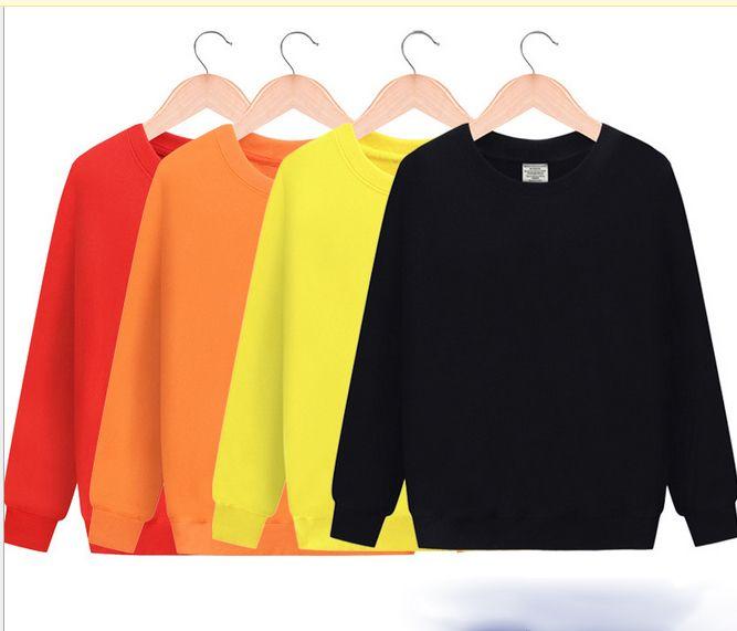 5ddb36950 Quality Men's Spring Casual crewneck sweatshirt Custom Logo Blank Solid  Color Sweatshirt sport jumper drop shipping