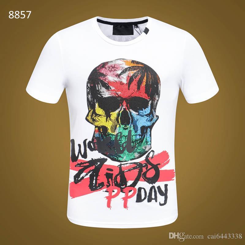 91a4da95482a Men T Shirt Summer O Neck Casual Fashion Hip Hop Print Tops Tees Cotton  High Quality  3135 PP Men S Short Sleeve T Shirts Printing Of T Shirt All  That ...