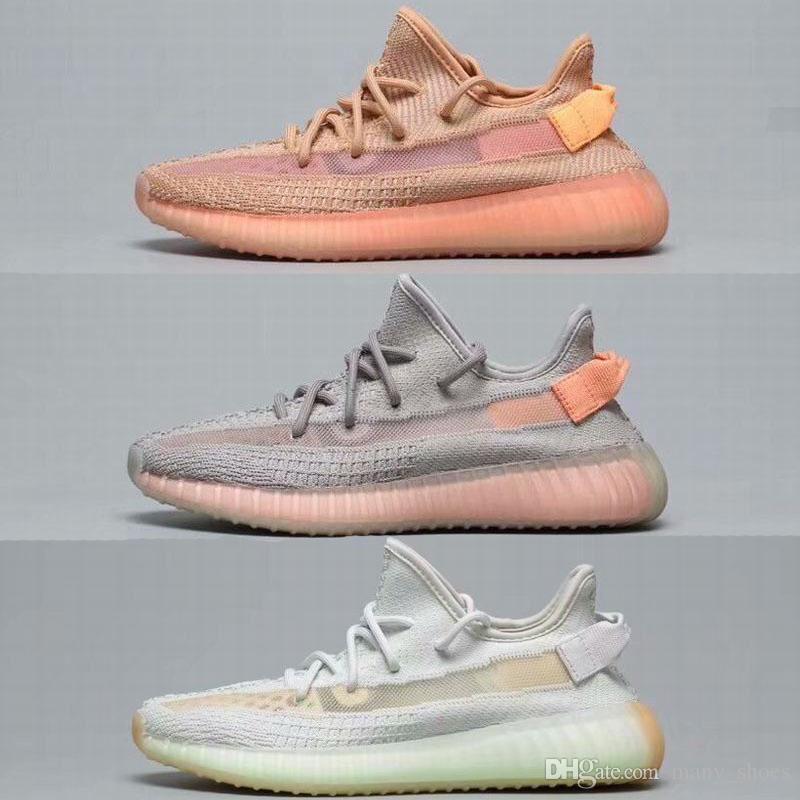 release date: 3b7ce 74ef9 Scarpe On Line Adidas Yeezy 350 V2 Con Scatole 2019 Release Originals  Designer V2 Clay Hyperspace Statico Vero Forma Kanye West Uomo Donna Scarpe  Da Corsa ...