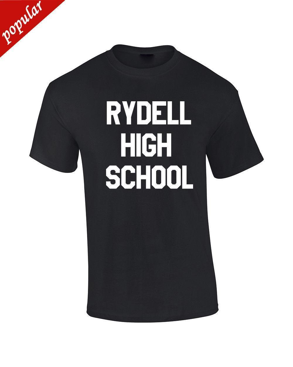 Rydell High School Grease Inspired Mens Tshirt Womens Tshirt Movie