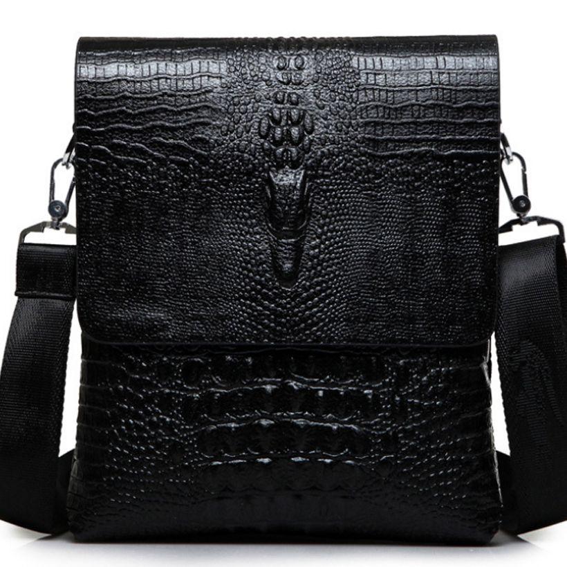 e67905ce72 Luxury Fashion Briefcase Men Bag Notebook Crocodile Messenger Leather Laptop  Bag Case Brand Bags 2019 New Men Messenger Bags Best Briefcases Leather  Laptop ...