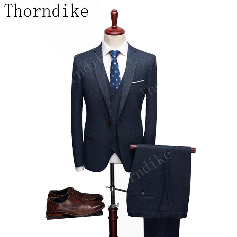 341781503cf4 Suits Men British Latest Coat Pant Designs Navy Blue Mens Suit ...