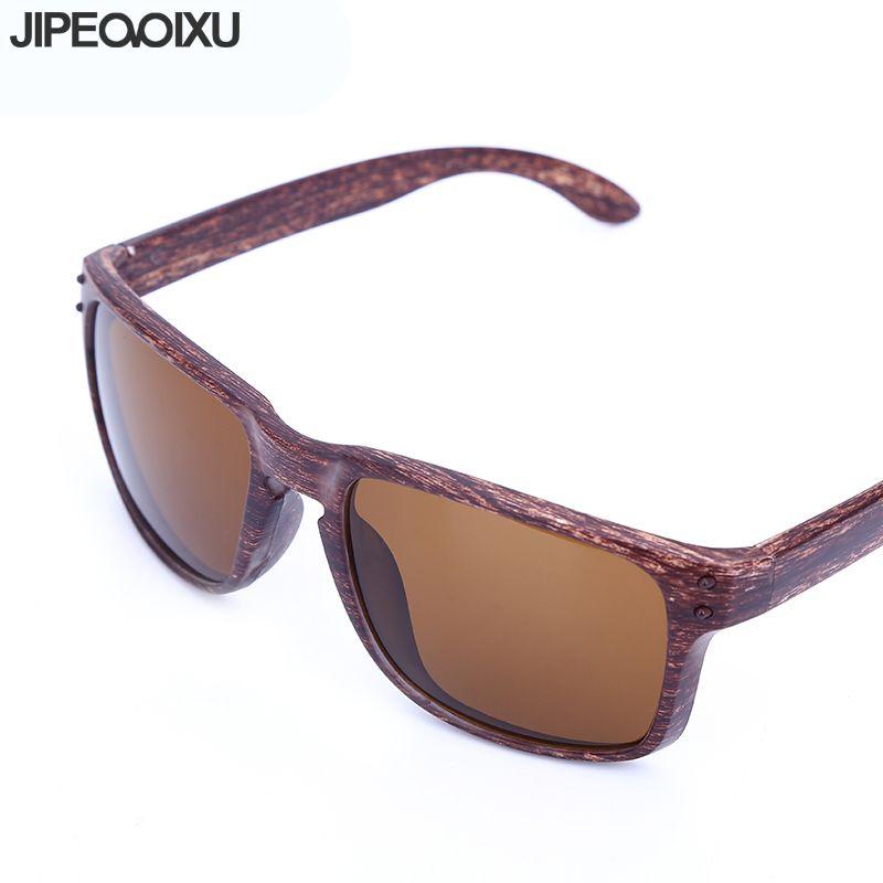 Vendimia Madera Cuadradas La Moda Hombre Para Gafas Calidad Conducción De Sol Hombres Remache Imitación Alta dxroCBeW