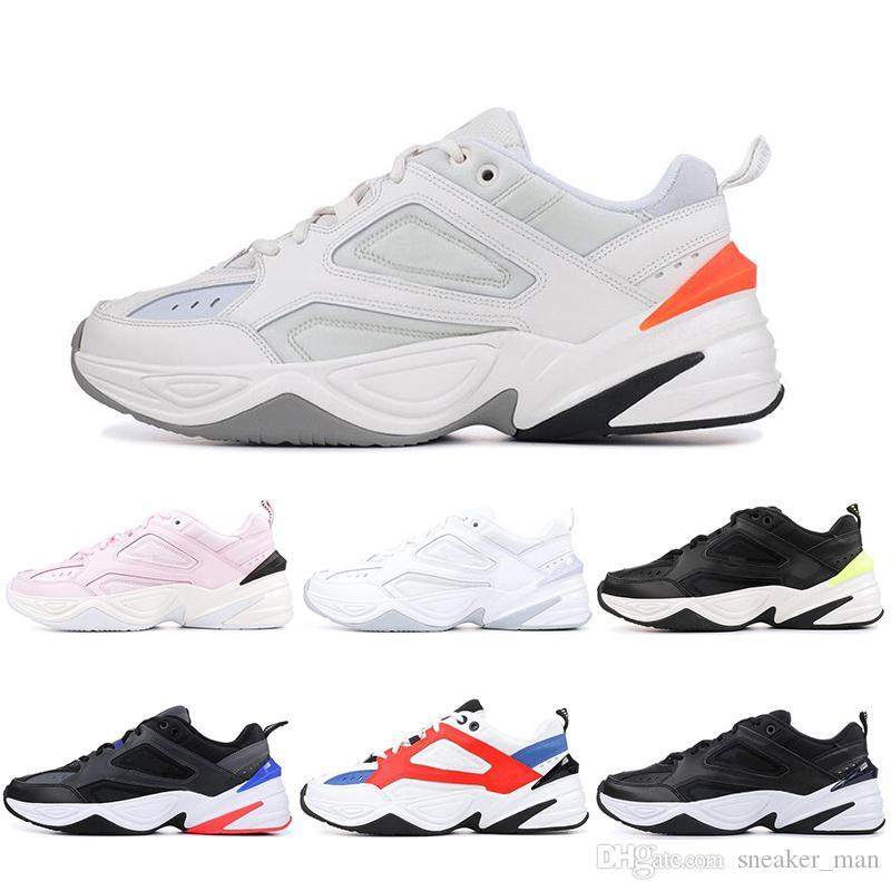 hot sales 1e366 ee7c7 Acheter Nike M2K Tekno En Gros M2K Tekno Phantom Vieux Hommes Sports  Chaussures De Course Femmes Baskets Athlétique Formateurs Hommes Chaussures  En Plein ...