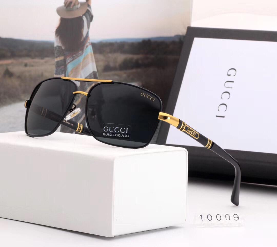 Famous Designer Sunglasses Luxury Sunglasses for Mens Adumbral Glasses UV400 Hot Summer Brand G10009 3 Colors Optional High Quality with Box