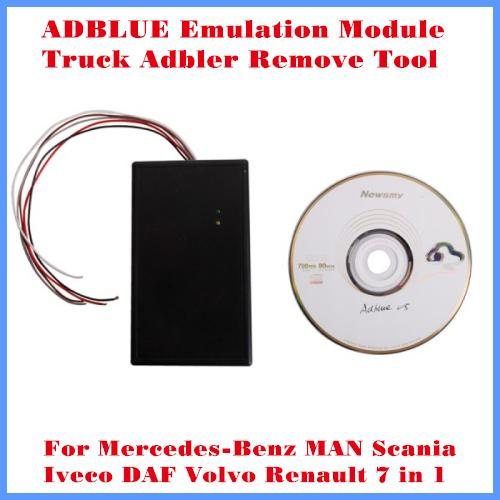 [DHL Free Shipping]ADBLUE Emulation Module Truck Adblue Remove Tool For  Benz MAN Scania Iveco DAF Volvo and Renault 7 in 1