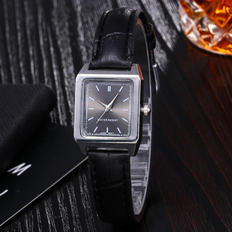 Beautiful New Popular Cheap Square Small Dial Quartz Wrist Watch Elegant Ladies Casual Business Watches with box