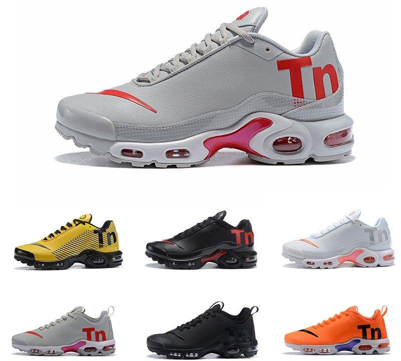 db23ccd94a98e5 Cheap 2019 TN Plus Outdoor Shoes New Tn Men VM In Mercurial Maxes Plus Tn  Sports Shoe Grape Volt Hyper White Black Trainer Sneakers