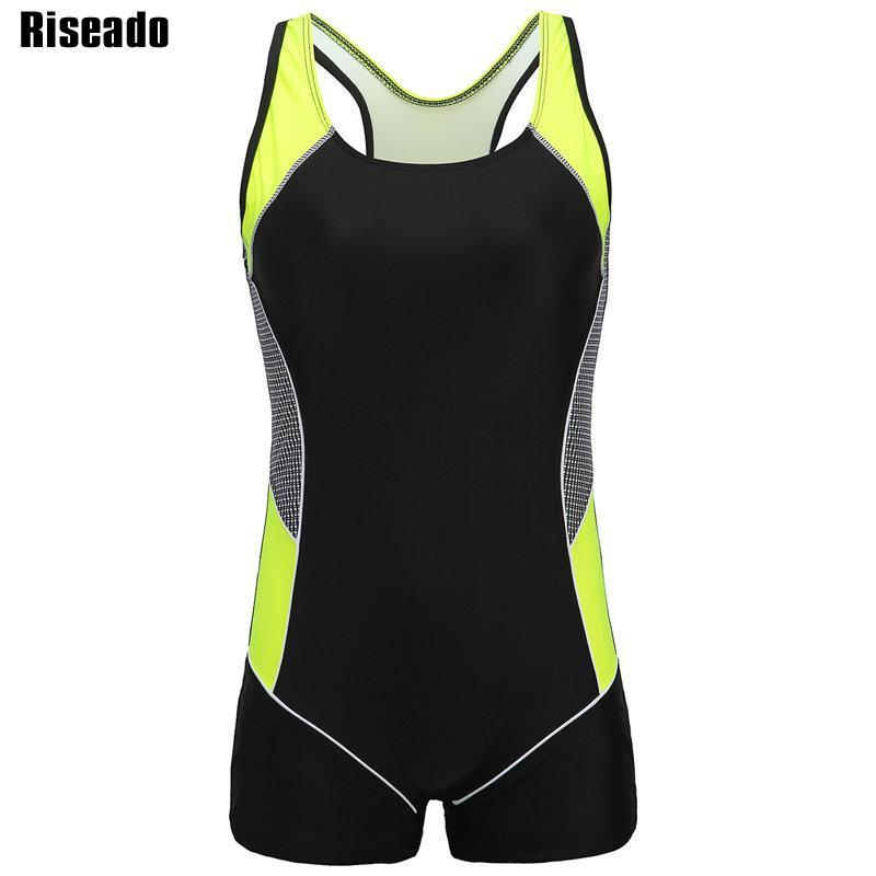 8d8837f44d4 Riseado Competition Swimsuit 2018 One Piece Swimwear Women Swimming Suits  Sport Training Swim Wear Splice Bodysuits Online with $32.33/Piece on  Kaway's ...